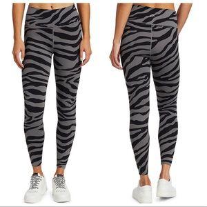 NWT Varley High Rise Luna Ankle Leggings Zebra